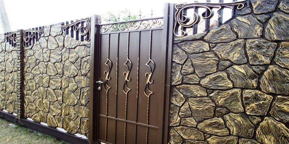 Бетонный забор секционный волгоград